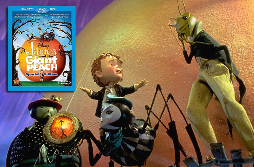 James and the Giant Peach: The Special Edition on Blu-ray from Walt Disney Studios Home Entertainment