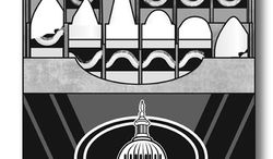 Illustration: Race by Linas Garsys for The Washington Times
