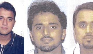 Adnan Shukrijumah, 35, is shown in these undated images provided by the FBI. The suspected al Qaeda operative who lived for more than 15 years in the U.S. has become chief of the terror network's global operations, the FBI says, marking the first time a leader so intimately familiar with American society has been placed in charge of planning attacks. (AP Photo/FBI)