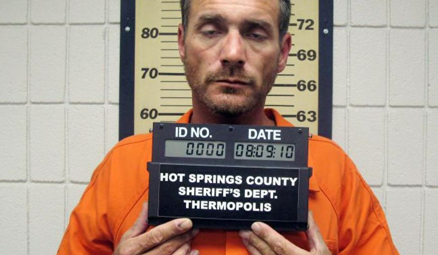Convicted killer Tracy Province, who escaped from a medium-security Arizona prison, was singing with a church choir a day before his capture in Thermopolis, Wyo. Province told authorities he was relieved that the manhunt was over. (Associated Press)