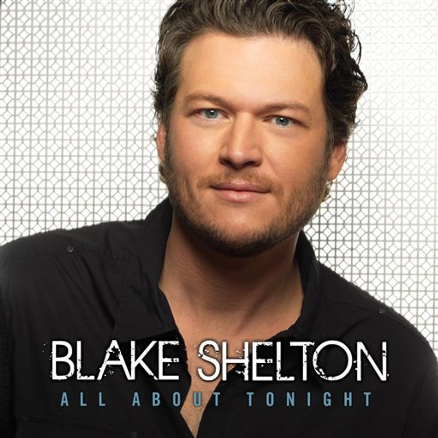 """In this CD cover image released by Reprise Records, the latest by Blake Shelton, """"All About Tonight,"""" is shown. (AP Photo/Reprise)"""