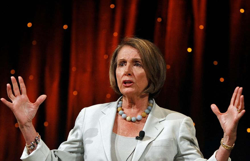 ** FILE ** Former House Speaker Nancy Pelosi, D-Calif., is shown in this June 24, 2010, file photo. (AP Photo/Louie Traub)