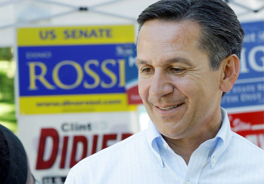 GOP Senate candidate Dino Rossi most likely will face Democratic Sen. Patty Murray in the fall elections. (AP Photo)