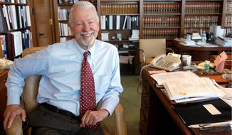 Chief Judge Vaughn R. Walker of the U.S. District Court for the Northern District of California (AP Photo)