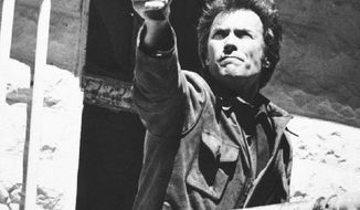 "Clint Eastwood was best known as ""Dirty Harry"" in 1975, but students in the class of 2014 consider him more of a sensitive Hollywood director than an actor with hard-core roles. (Associated Press)"