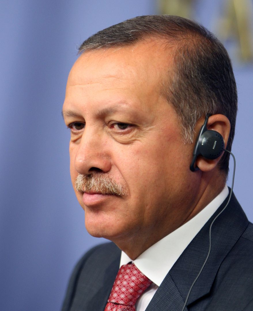 **FILE** Turkish Prime Minister Recep Tayyip Erdogan (Associated Press)