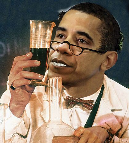 Illustration: Professor Obama