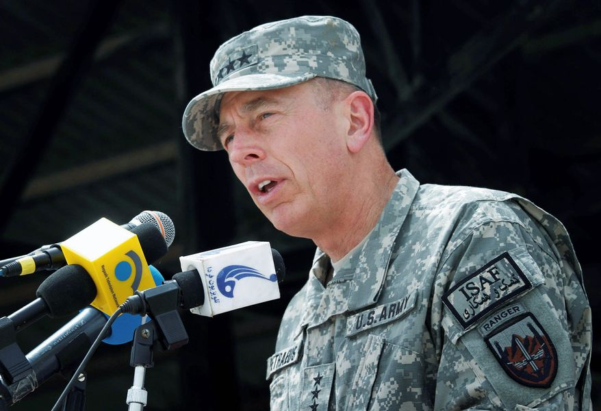 """""""We are doing everything we can to achieve progress as rapidly as we can without rushing to failure,"""" said Army Gen. David H. Petraeus, commander of the NATO and U.S. forces in Afghanistan. (Associated Press)"""