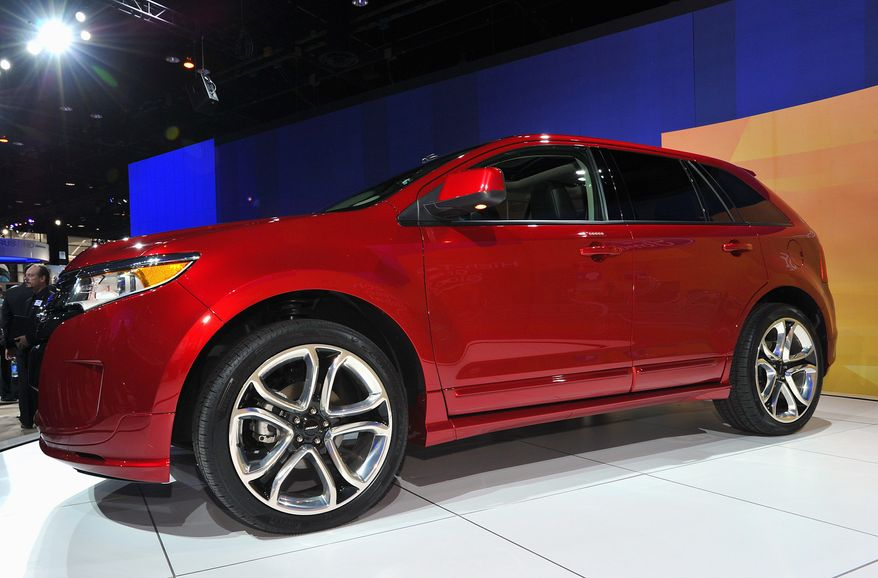 The 2011 Ford Edge Sport is on display at the 2010 Chicago Auto Show in February. (Sam VarnHagen/Ford Motor Co.)