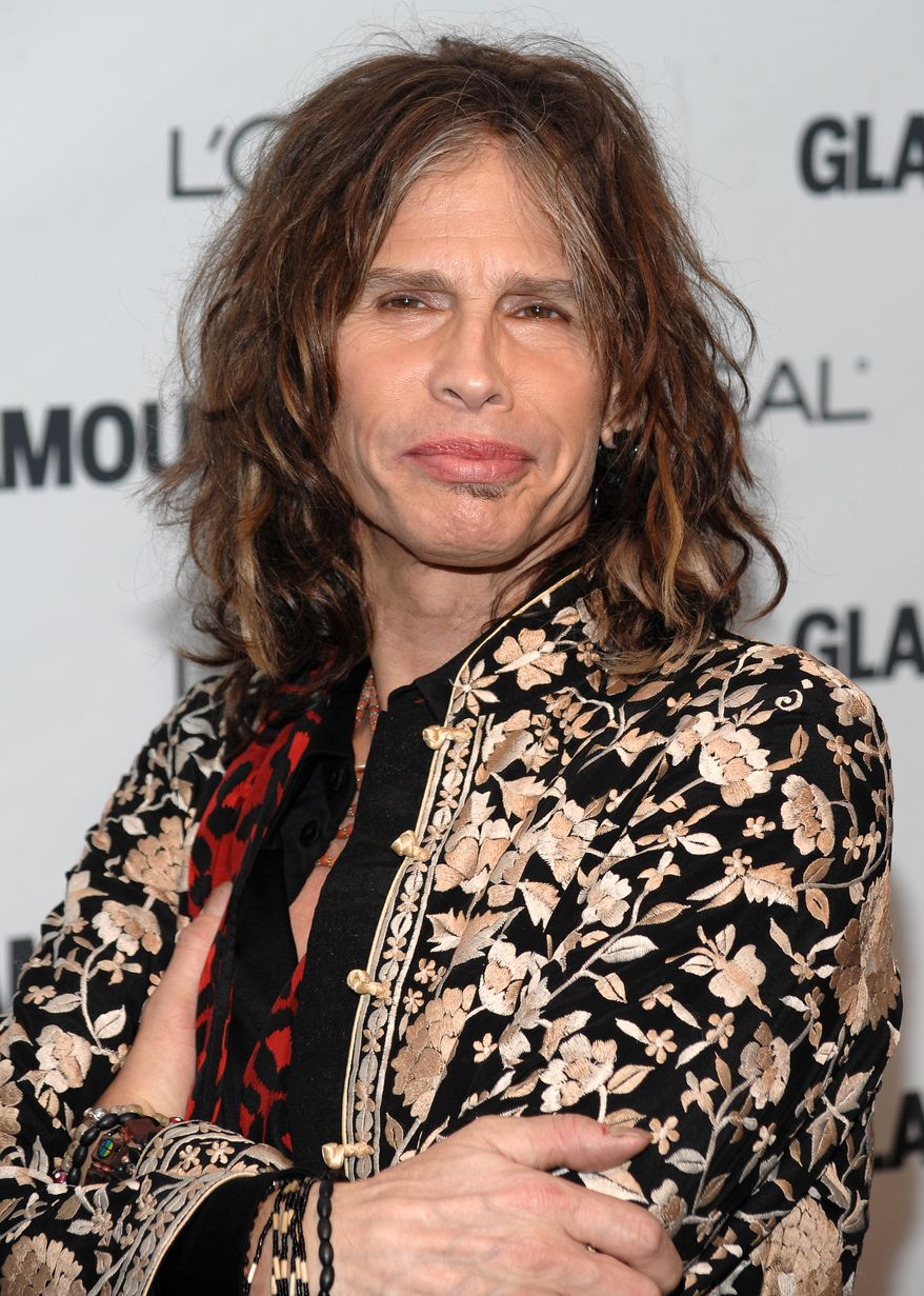 In this Nov. 9, 2009, file photo, Aerosmith lead singer Steven Tyler attends the Glamour Magazine 2009 Women of the Year Awards at Carnegie Hall in New York. (AP Photo/Evan Agostini, file)