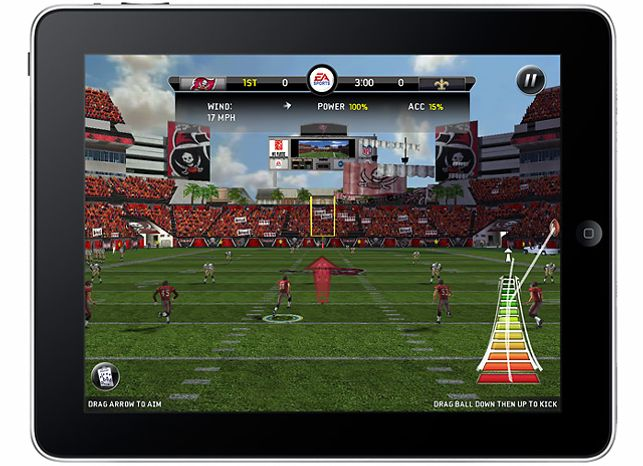 Madden NFL 11  for the iPad from Electronic Arts