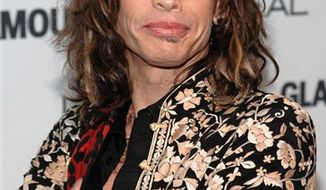 FILE - In this Nov. 9, 2009 file photo, Aerosmith lead singer Steven Tyler attends the Glamour Magazine 2009 Women of the Year Awards at Carnegie Hall in New York. (AP Photo/Evan Agostini, file)