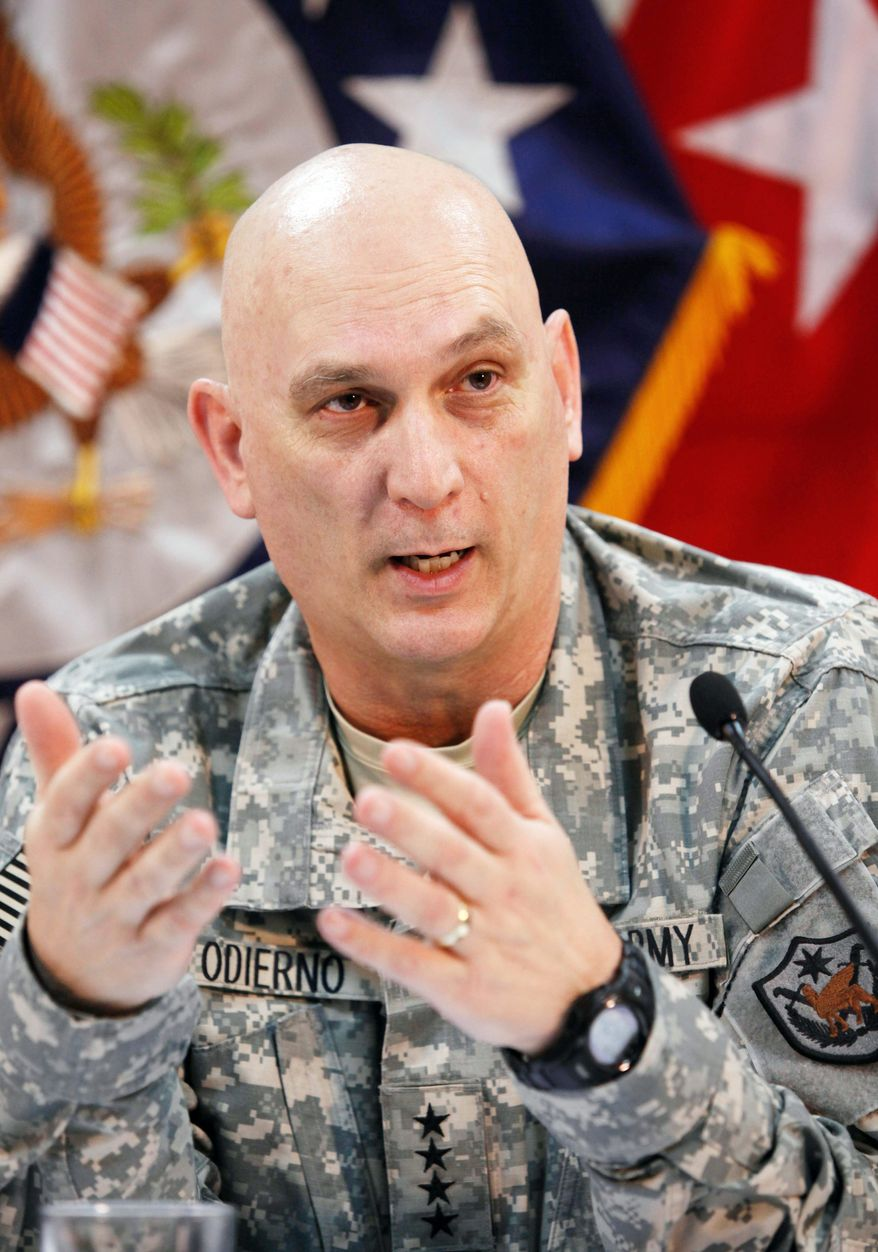 """ASSOCIATED PRESS """"We continue to see development ... in their ability to conduct operations,"""" Gen. Raymond T. Odierno said of the Iraqi army."""
