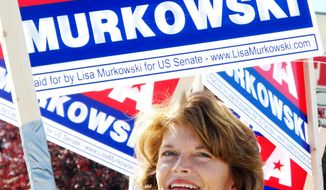 Associated Press Sen. Lisa Murkowski, Alaska Republican, failed to respond early and often to a primary challenger's attacks. Her re-election hopes now hinge on absentee ballots.