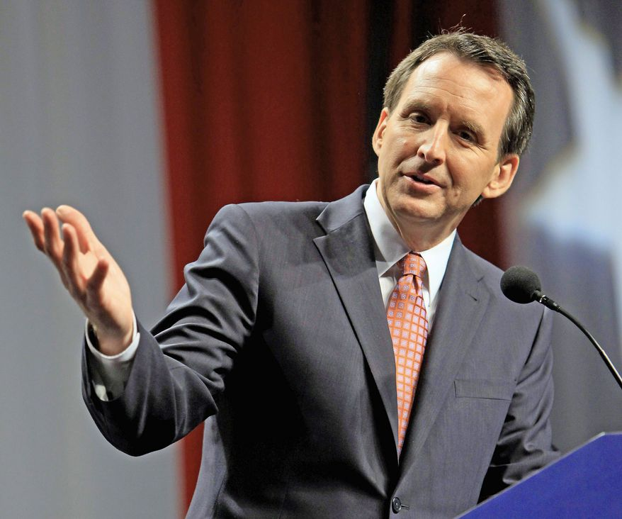 "ASSOCIATED PRESS Minnesota Gov. Tim Pawlenty ordered state agencies to decline ""discretionary"" involvement with President Obama's health care overhaul on Tuesday. He is expected to use the move to hit Mitt Romney of the presidential campaign trail. He considers Mr. Romney a front-runner because of his name recognition and campaign organization dating back to his failed 2008 presidential run."