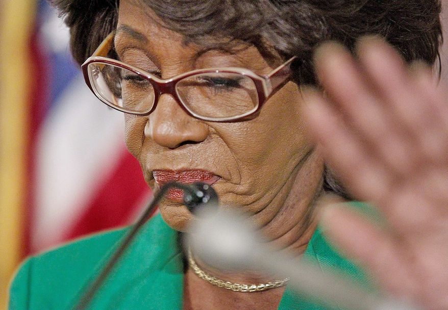 ASSOCIATED PRESS Rep. Maxine Waters, California Democrat, in 2004 obtained an opinion from the Federal Election Commission allowing her to run a mailer operation through her federal political committee.