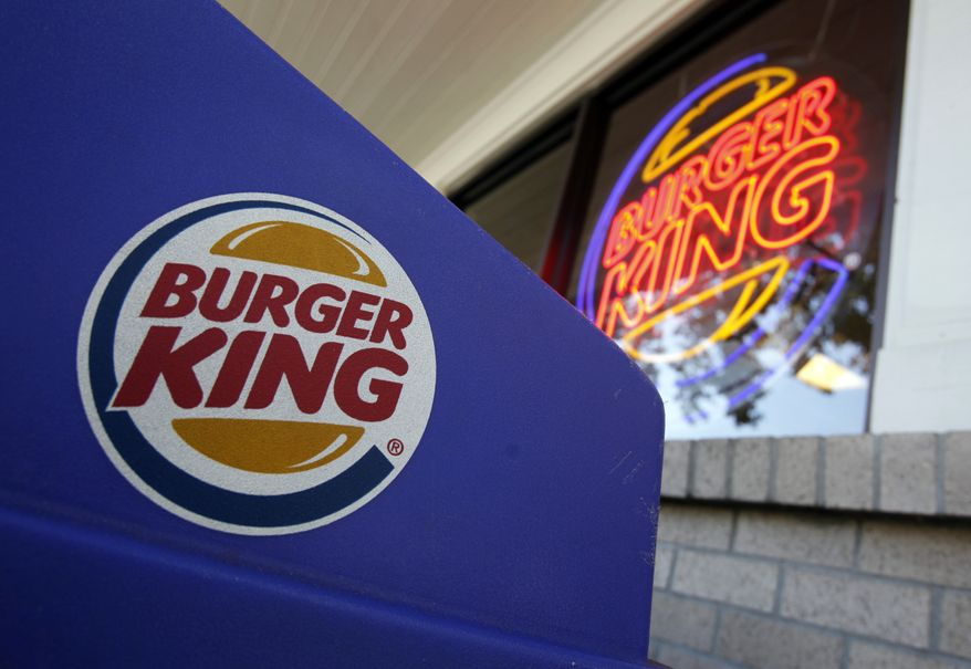 A Burger King store is pictured in Mountain View, Calif. (AP Photo/Paul Sakuma)