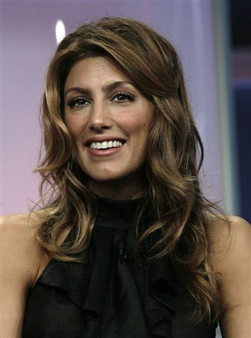 """FILE - Actress Jennifer Esposito of, """"Samantha Who?,"""" is seen during the ABC Summer Press Tour in Beverly Hills, Calif., in this July 26, 2007 file photo. CBS said Wednesday Sept. 1, 2010 that Esposito will guest star on several episodes of """"Blue Bloods,"""" a new drama about a family with deep roots in law enforcement. (AP Photo/Nick Ut)"""