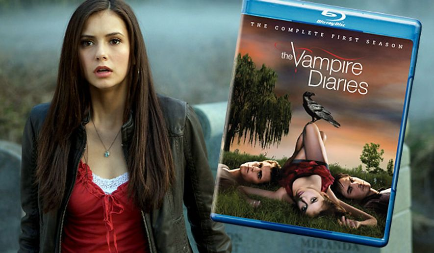 The Vampire Diaries: The Complete First Season from Warner Home Video is now on Blu-ray.