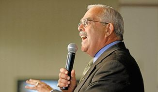 ** FILE ** Rep. Gerald E. Connolly, Virginia Democrat, conducts a town-hall event in Springfield, Va., in September 2010. (AP Photo, File)