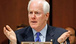 ** FILE ** Sen. John Cornyn, Texas Republican (Associated Press)