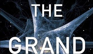 "In this book cover image released by Random House, ""The Grand Design"" by Stephen Hawking and Leonard Mlodinow is shown. (AP Photo/Random House)"