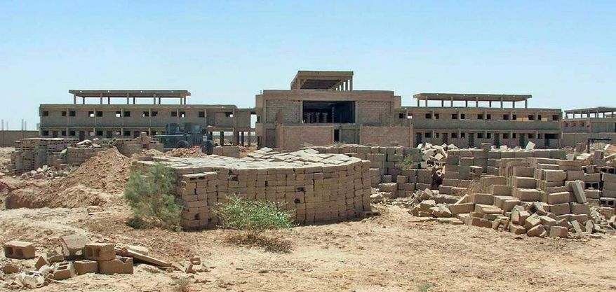 "A prison construction project north of Baghdad shows no signs of being completed any time soon, and the inspector general says, ""It will never hold a single Iraqi prisoner."" (Associated Press)"