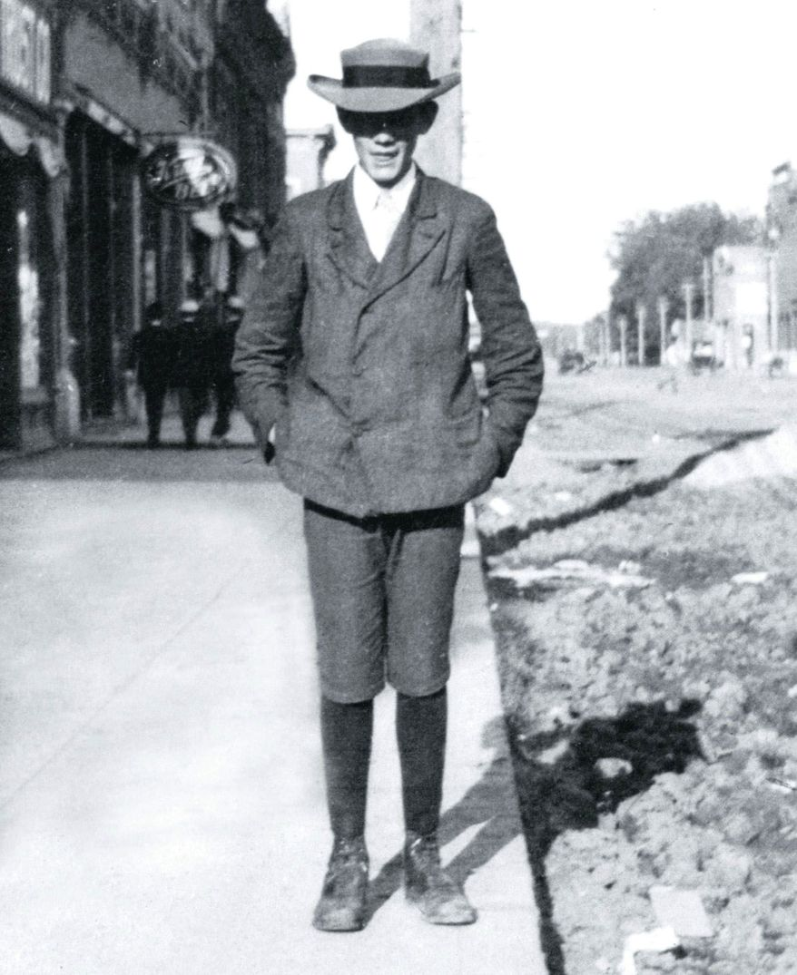 Joyce Clyde Hall, 18, stepped off a train in Kansas City, Mo., from Nebraska in 1910 equipped with little more than two shoeboxes of picture postcards and his entrepreneurial spirit. (Hallmark)