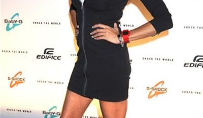 """FILE - In an Aug. 2, 2010 file photo """"Real Housewives of New Jersey"""" star Danielle Staub arrives for the """"Casio Shock the World 2010"""" event in New York. The Bravo network announced Monday, Sept. 6, 2010 that Staub would not be returning to the show. ( AP Photo/ Louis Lanzano/file)"""