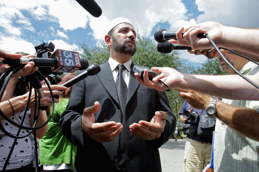 Imam Muhammad Musri, of the Islamic Society of Central Florida, says he hopes Mr. Jones will change his mind.