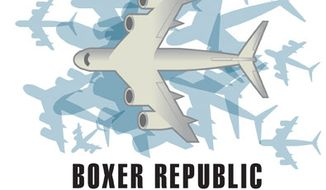 Illustration: Boxer Republic by Linas Garsys for The Washington Times