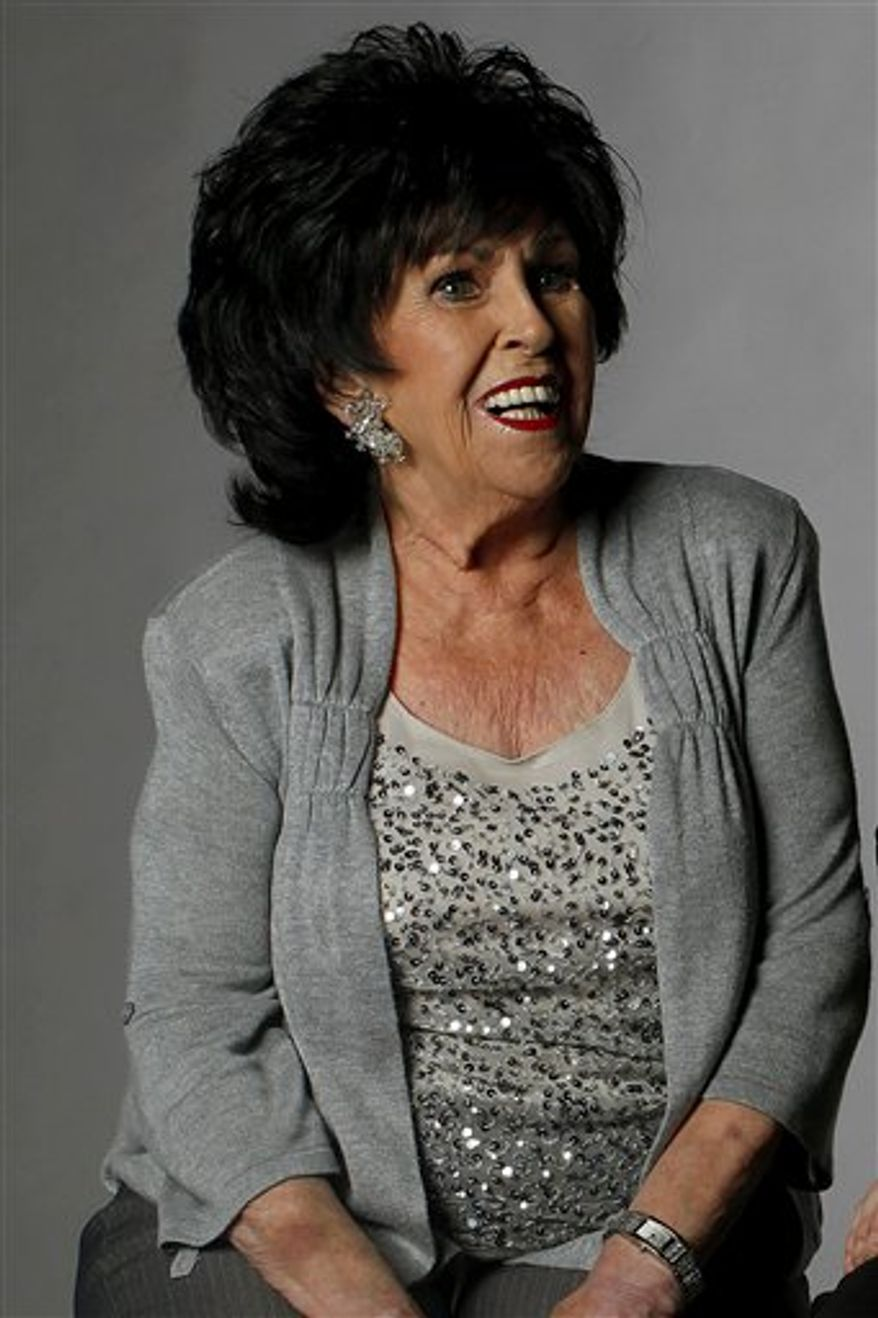 In this July 6, 2010 photo, Wanda Jackson poses for a portrait in Nashville Tenn. (AP Photo/Josh Anderson)