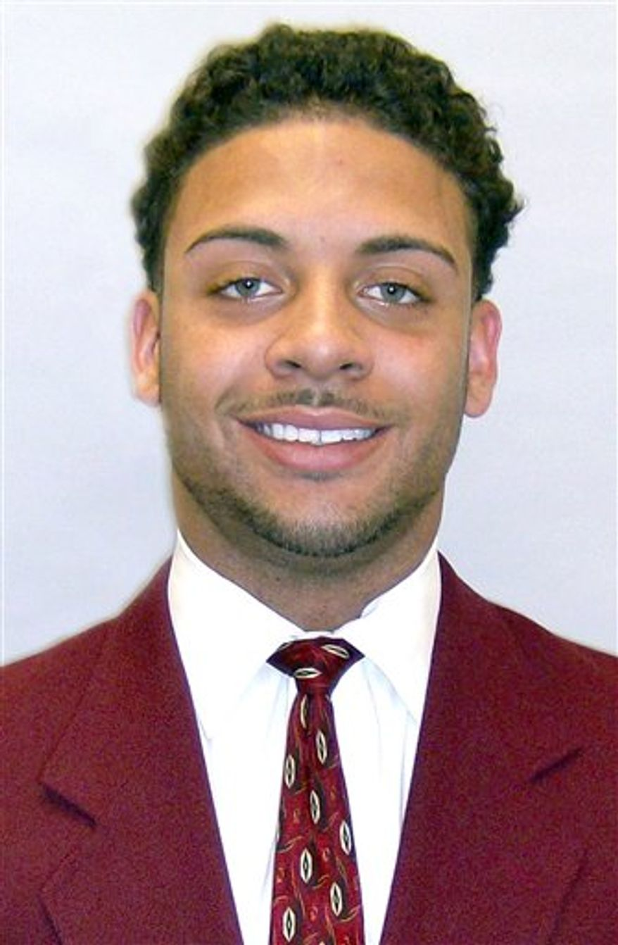 This image provided by University of Southern California, USC football player Dillon Baxter poses for a portrait.. Baxter is eager for his Hollywood premiere, even if it's a week late. The Southern California's touted freshman tailback will be in uniform Saturday night when the 16th-ranked Trojans host Virginia at the Coliseum.(AP Photo/USC)