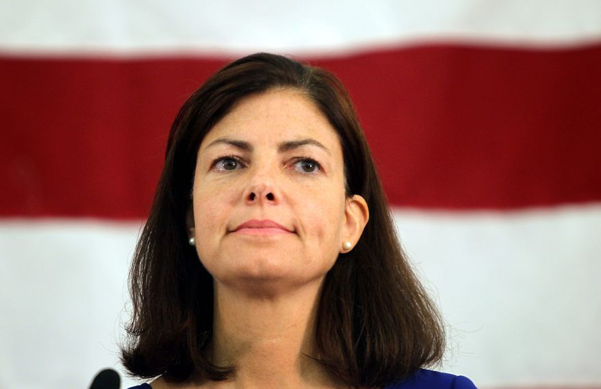 Kelly Ayotte, a former New Hampshire attorney general who won the endorsement of former Alaska Gov. Sarah Palin, defeated Senate rival Ovide Lamontagne. (AP Photo)
