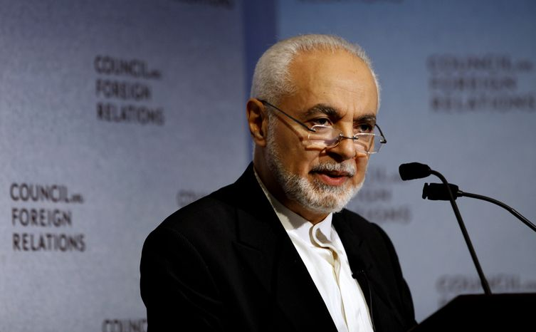 Imam Feisal Abdul Rauf, executive director of the Cordoba Initiative, addresses the Council on Foreign Relations, Monday, Sept. 13, 2010, in New York. Imam Rauf is now in the midst of a polarizing political, religious and cultural debate over his plans for a m