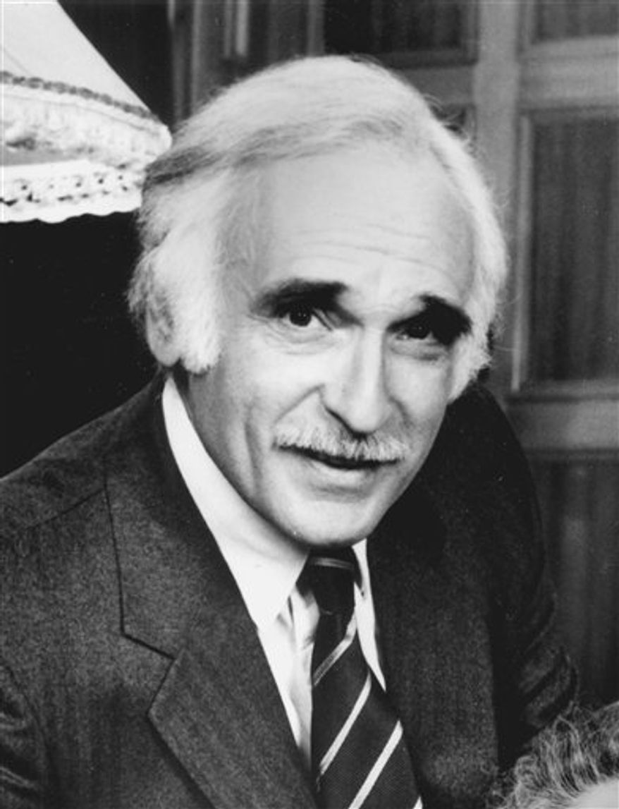 "In this 1986 file photo originally released by CBS, actor Harold Gould is shown in a publicity image for the TV film, ""Mrs. Delafield Wants to Marry."" Gould, who played Valerie Harper's father on television's ""Rhoda"" and the con man Kid Twist in the 1973 movie ""The Sting,"" died saturday, Sept. 11, 2010 of prostate cancer in Woodland Hills, Calif. He was 86.  (AP Photo/CBS, file)"