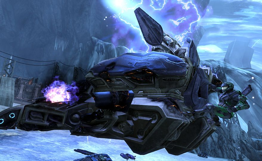 Action from Halo Reach for Xbox 360