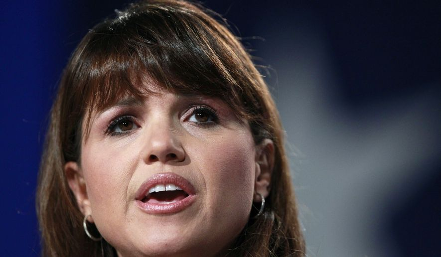 Delaware Republican Senate candidate Christine O'Donnell delivers remarks at the Values Voter Summit in Washington, Friday, Sept. 17, 2010. (AP Photo/Manuel Balce Ceneta)