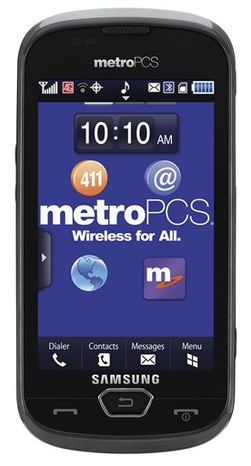 This product image provided by MetroPCS Communications Inc.,shows the Samsung Craft, the first U.S. phone to use the next-generation LTE wireless technology. (AP Photo/MetroPCS Communications Inc.) NO SALES