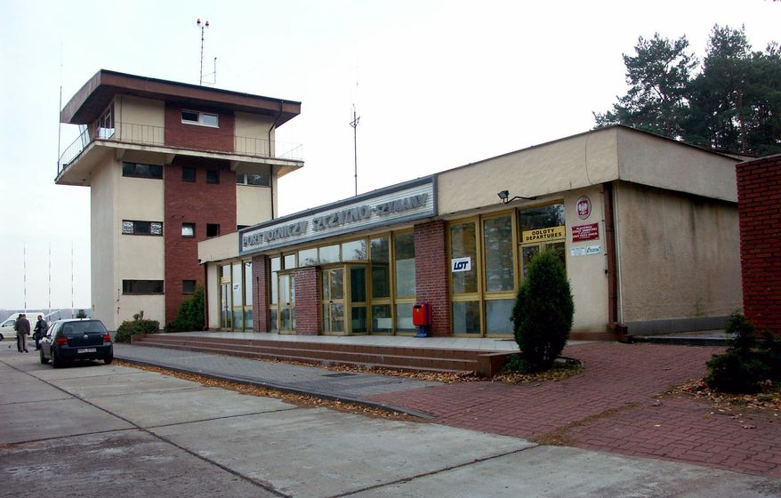 This Thursday, Nov. 3, 2005, file photo shows the control tower of the airport in Szymany, in northeastern Poland. Prosecutors are investigating possible abuse of power by Polish public officials in connection with the closed CIA black site near the secluded Szymany airport in northeast Poland. (AP Photo, File