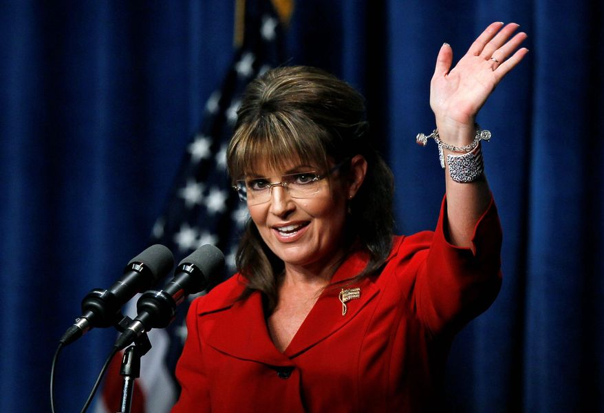 Associated Press photographs The Republican National Committee  is helping former Alaska Gov. Sarah Palin pay off legal expenses dating back to her  2008 vice-presidential campaign.