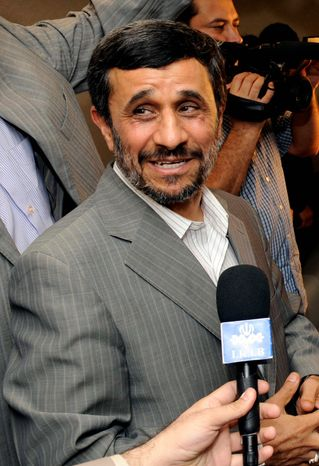 ASSOCIATED PRESS Iranian President Mahmoud Ahmadinejad is well known for his provocative statements and liking for the public spotlight.