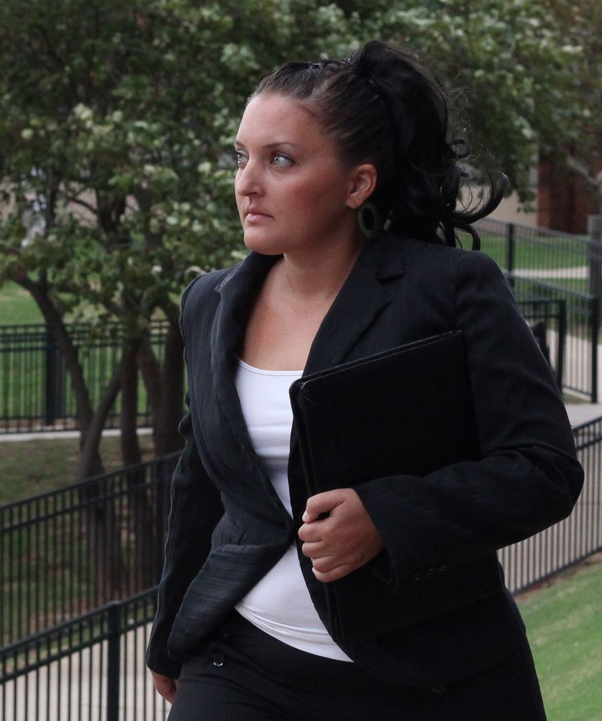 Maria Ruskiewicz, a law student at Oklahoma City University, said on Tuesday that Calumet County District Attorney Ken Kratz, a Wisconsin prosecutor accused of abusing his power to seek relationships with two other women, also sent her sexually harassing text messages in 2008 while helping her seek a pardon for a teenage drug conviction. (AP Photo/Oklahoma City University School of Law, Nathan Gunter)
