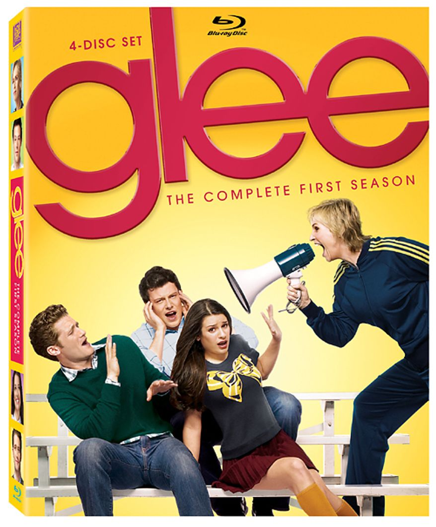 Glee: The Complete First Season from 20th Century Fox Home Entertainment is available on Blu-ray.