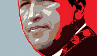 Illustration: Hugo Chavez