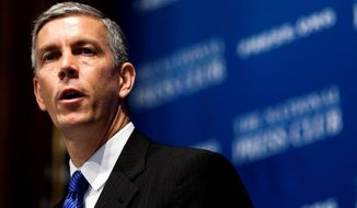 Education Secretary Arne Duncan has spoken positively of the D.C. schools chancellor's reforms. (Associated Press)