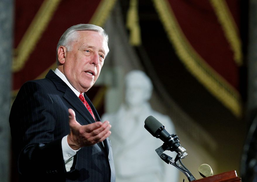 Associated Press House Majority Leader Steny H. Hoyer, Maryland Democrat, sought Tuesday to blame Republicans for the congressional standoff over extending the Bush-era tax cuts, which are set to expire at year's end.