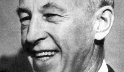 Bill Wilson, co-founder of Alcoholics Anonymous, had been credited with writing the definitive book offering drunks a spiritual path to recovery through 12 steps. (Associated Press)