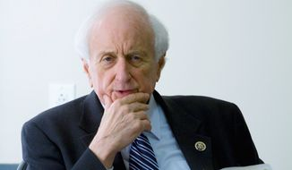 ** FILE ** Rep. Sander M. Levin, Michigan Democrat, is chairman of the House Ways and Means Committee. (AP Photo)