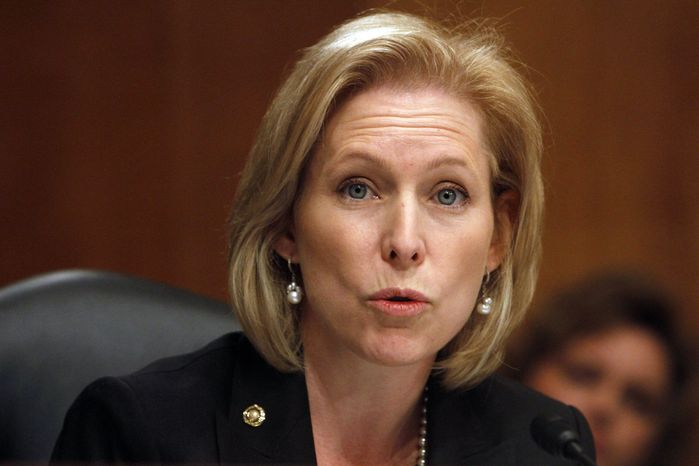 ** FILE ** Sen. Kirsten E. Gillibrand, New York Democrat (AP Photo)